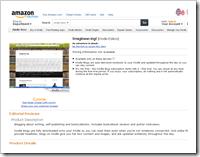 Amazon Blog Page